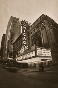Chicago theater taken by Tamra Horner