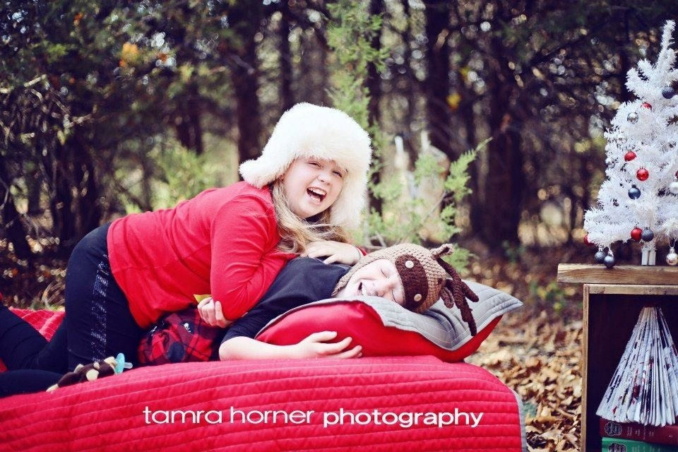 Merry Christmas Our Kids Photoshoot Tamra Horner