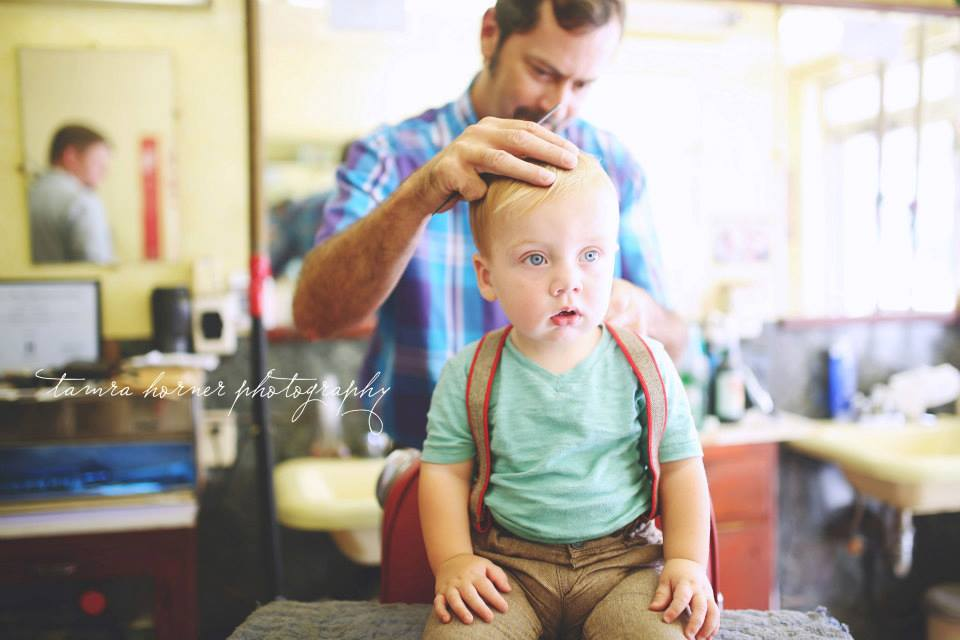first hair cut photo shoot, mckinney tx photography